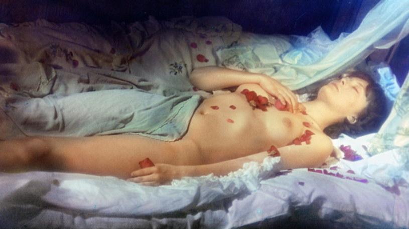 """Ikoniczny obraz: Grażyna Długołęcka w """"Dziejach grzechu"""" /materiały prasowe"""