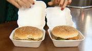 Ile kalorii mają hamburgery i pierogi sprzedawane na stacjach benzynowych?