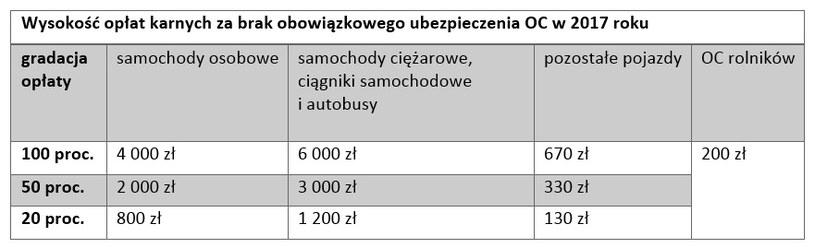 Ile zapłacimy za przerwę w ubezpieczeniu OC? /INTERIA.PL