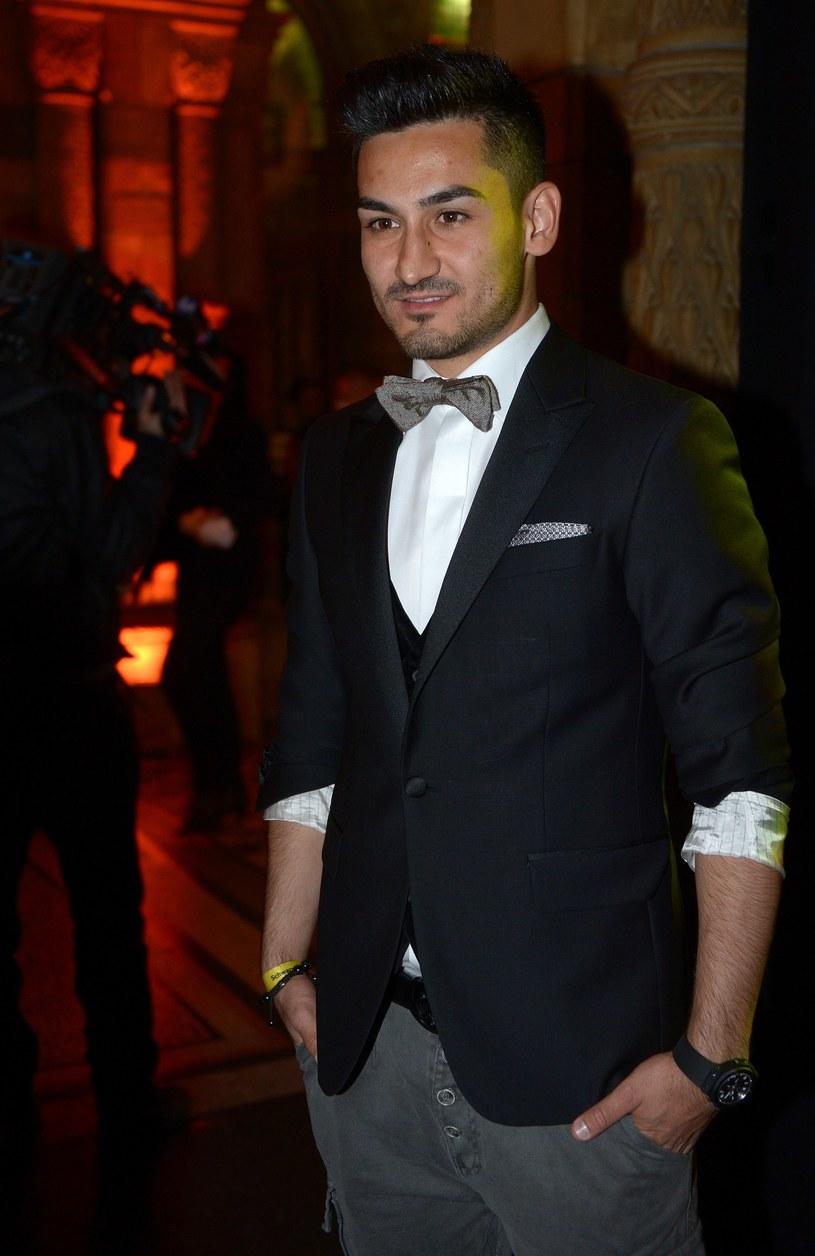 Ilkay Guendogan, piłkarz Borussii Dortmund /AFP