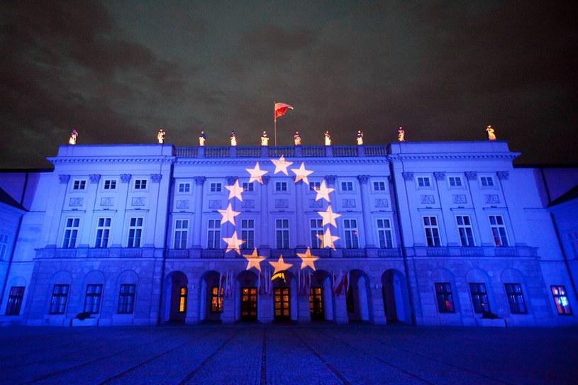 Iluminacja w Warszawie /KAROL SEREWIS /East News