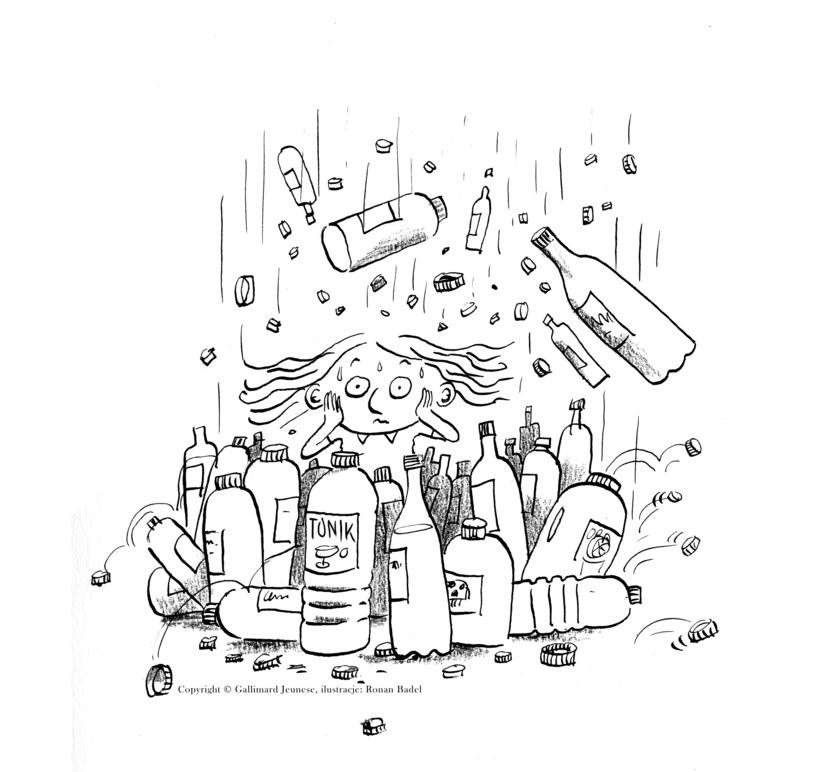 """Ilustracja z książki """"Pralinka nie daje za wygraną"""" /materiały prasowe"""