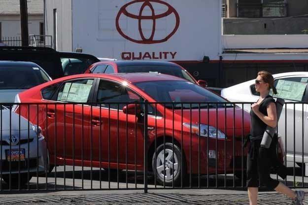 Image Toyoty mocno ucierpiał. Okazuje się, że niesłusznie /AFP