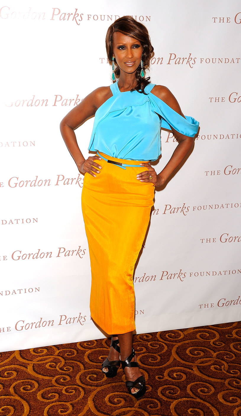 Iman   /Getty Images/Flash Press Media