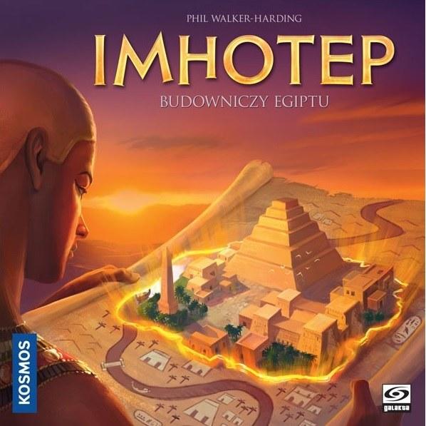 Imhotep to interesująca gra dla całej rodziny /materiały prasowe