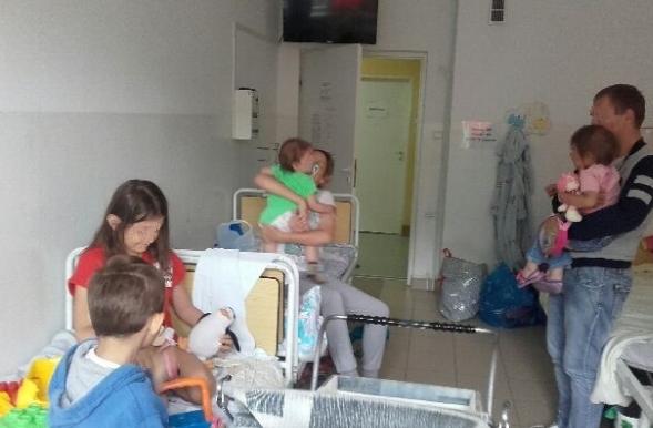 Imigranci trafili do szpitala /bieszczadzki.strazgraniczna.pl /