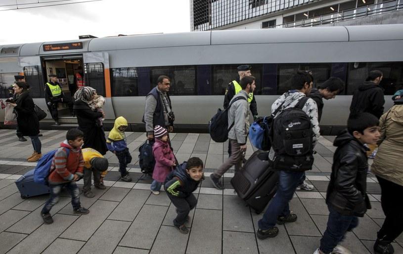 Imigranci w Malmoe /AFP
