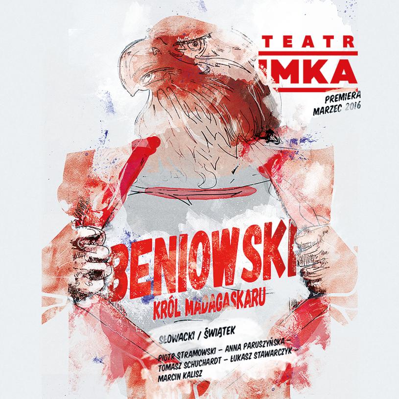 """IMKA: Zapraszamy na premierę """"Beniowskiego, króla Madagaskaru"""" /materiały prasowe"""