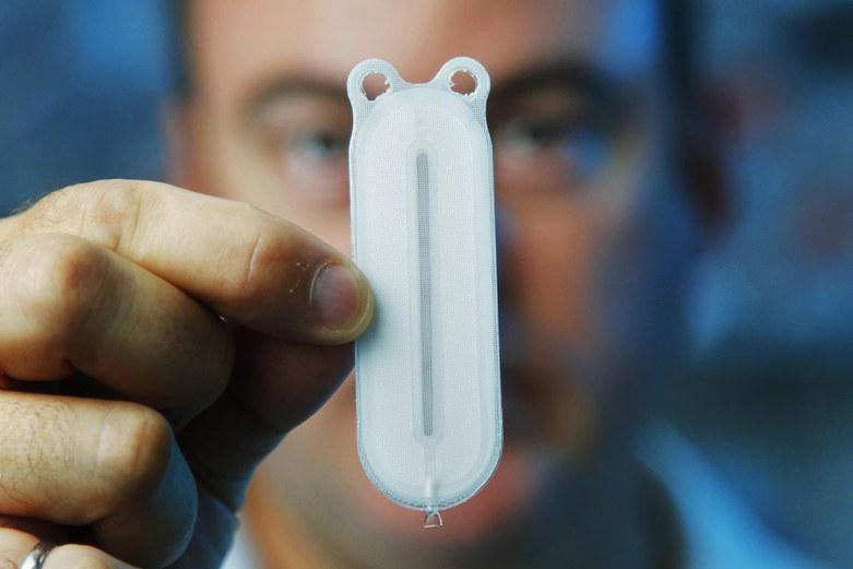 Implant, na którym dojrzewają komórki macierzyste /materiały prasowe