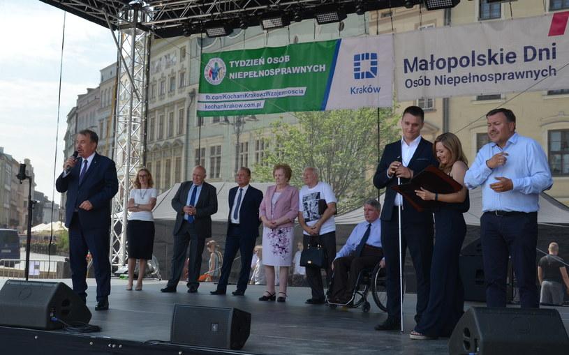 Inauguracja XIX Tygodnia Osób Niepełnosprawnych , fot. Ewa Majewska /INTERIA.PL