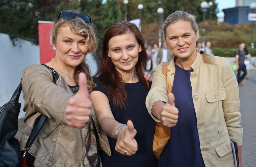 Inauguracja zbierania podpisów przez Zjednoczoną Lewicę SLD + TR + PPS + UP + Zieloni /Rafał Guz /PAP