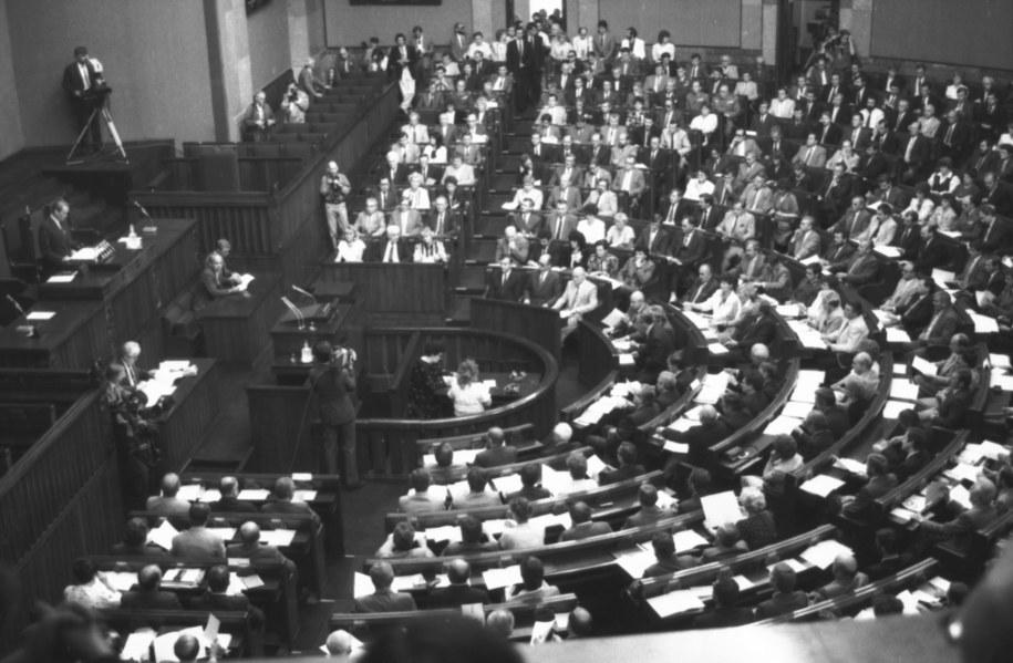 Inauguracyjne posiedzenie X kadencji Sejmu PRL (zdjęcie ilustracyjne) /Damazy Kwiatkowski  /PAP