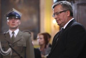 Incydent w Łucku. Prezydent obrzucony jajkami