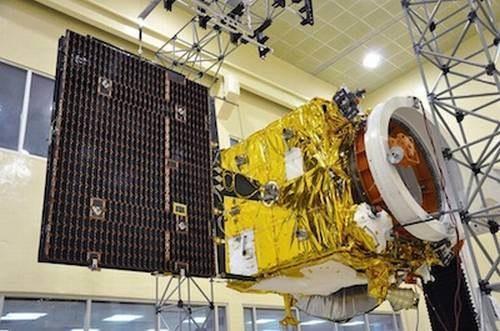 Indyjska sonda MOM. /materiały prasowe
