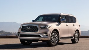 Infiniti QX80 po face liftingu
