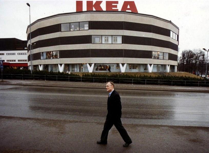 Ingvar Kamprad, 1989 rok / LARS NYBERG /AFP
