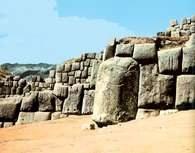 Inkowie, ruiny twierdzy Sacsahuaman , Cuzco /Encyklopedia Internautica
