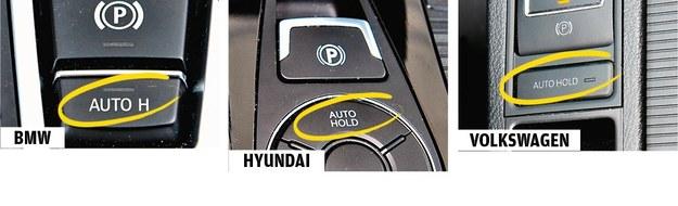 Inne rozwiązanie: Auto hold /Motor