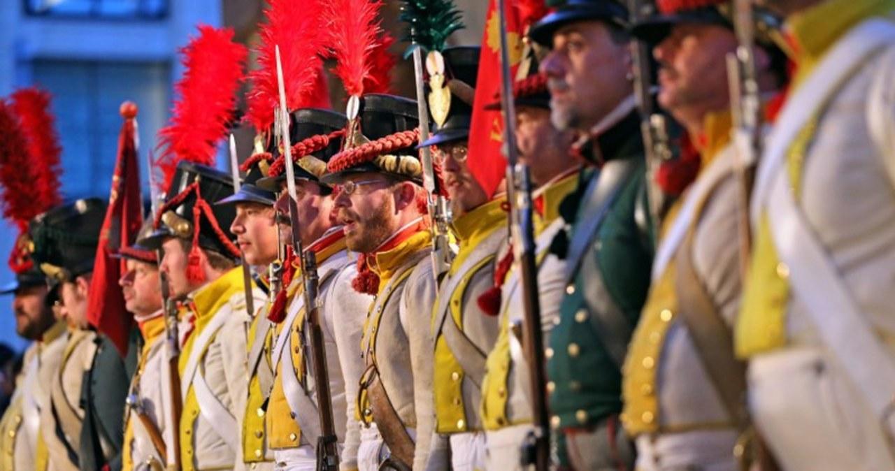 Inscenizacja Bitwy Narodów w Lipsku