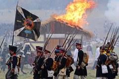 Inscenizacja z okazji 200. rocznicy bitwy narodów pod Lipskiem