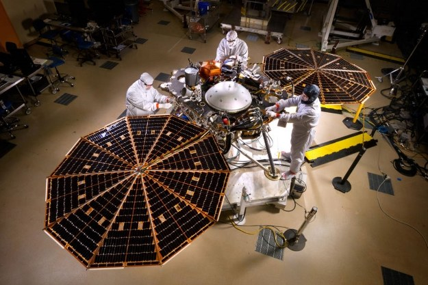 InSight.  Fot. NASA/JPL-Caltech/Lockheed Martin /NASA
