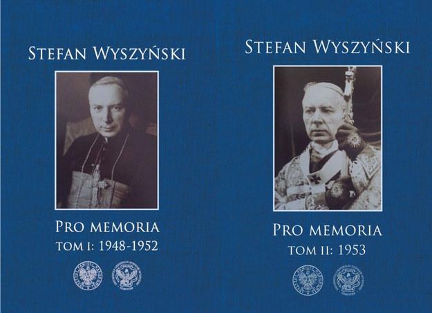 """Inspiracją do dyskusji będą dwa wydane właśnie tomy zapisków prymasa Stefana Wyszyńskiego """"Pro Memoria"""" /materiały prasowe /IPN"""