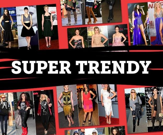 Inspiracja, elegancja, trendy  modowe.