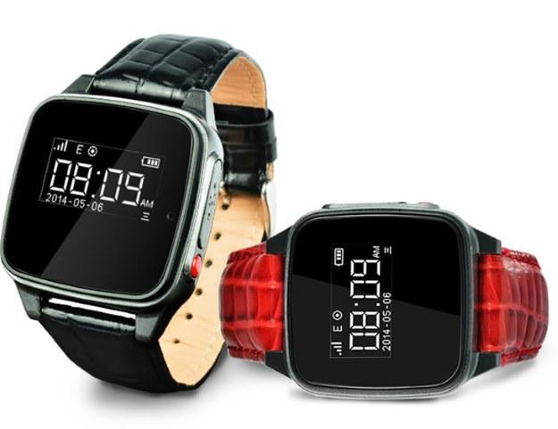 Inteligentne zegarki seniorów /materiały prasowe