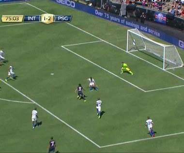 Inter Mediolan - PSG 1-3 w sparingu. Wideo