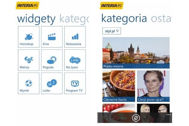 INTERIA FAKTY w wersji dla Windows Phone 8 /INTERIA.PL