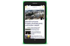 INTERIA.PL na platformie Nokia X