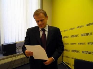 Internauci pytali kandydata na prezydenta o różne sprawy /INTERIA.PL