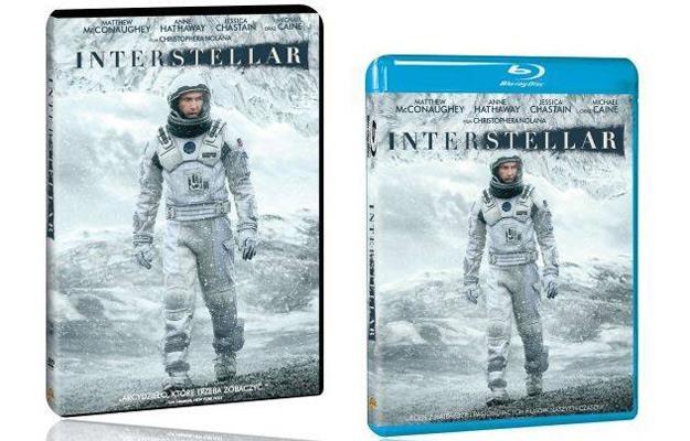 """Interstellar"" - okładki DVD i Blu-ray /materiały dystrybutora"
