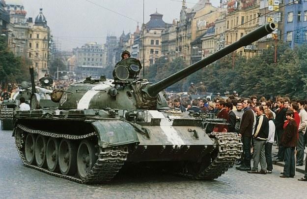 Interwencja w Czechosłowacji, Praga, 1968 r. /SIPA PRESS  /East News
