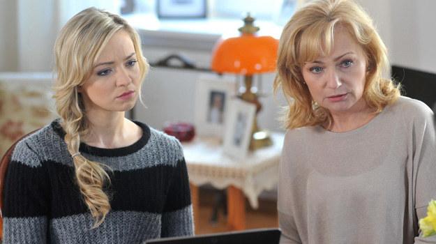 Intuicja podpowiada Dorocie, że jej córka znalazła się w poważnych tarapatach. /Agencja W. Impact