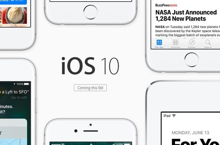 iOS 10 będzie dostępne do pobrania jesienią. /materiały prasowe