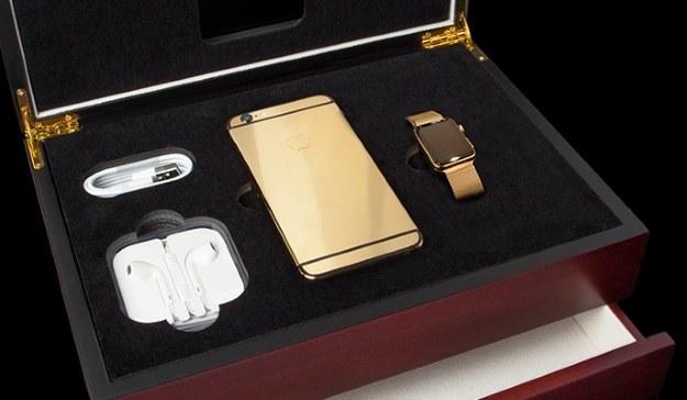iPhone 6 w wykonaniu Goldgenie /materiały prasowe