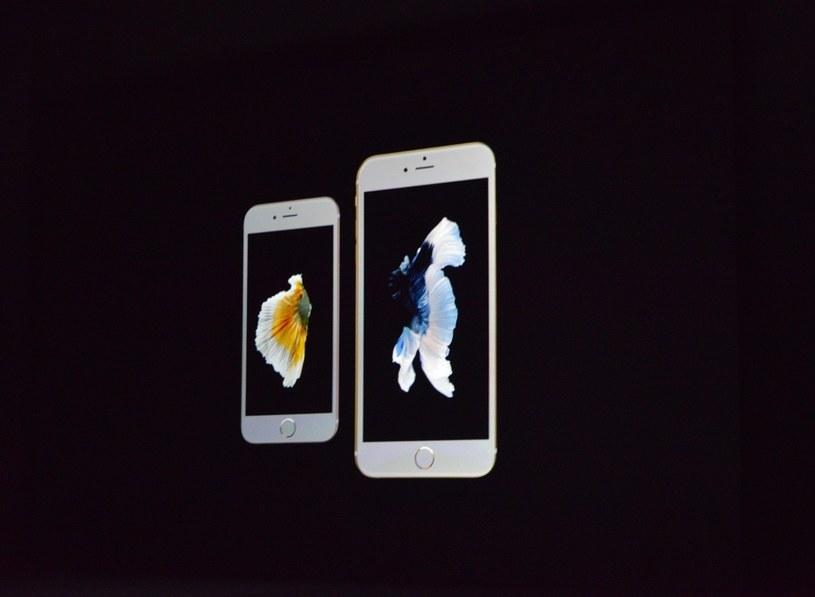iPhone 6S i 6S Plus /materiały prasowe