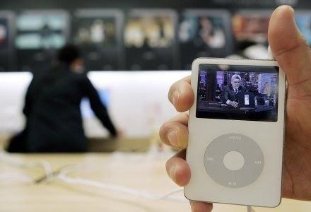 """iPod video - widzimy na nim program """"Tonight Show with Jay Leno"""" /AFP"""