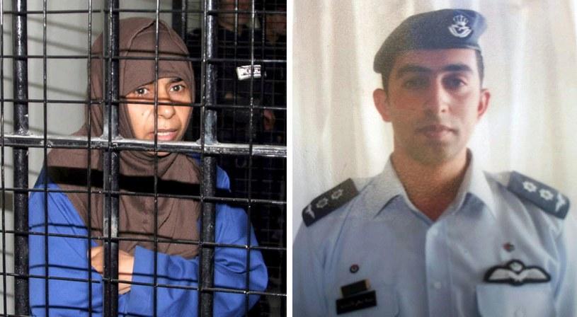 Iracka islamistka i jordański pilot /PAP