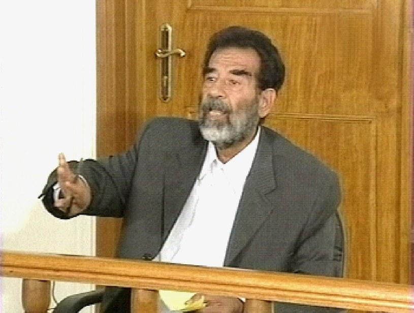 Iracki dyktator Saddam Hussein /AFP