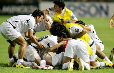 Irakijczycy świętują sukces /AFP
