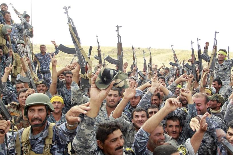 Irakijczycy walczący z Państwem Islamskim /AFP