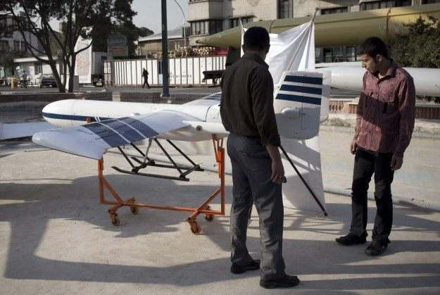 Iran ma swoją wizję na zastosowanie dronów /AFP