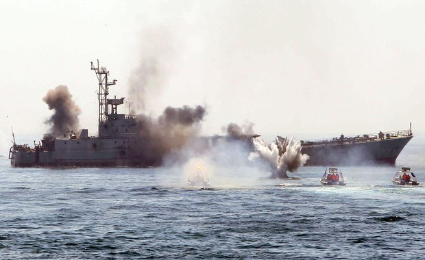 Iran rozpoczął manewry morskie w Zatoce Perskiej i na Oceanie Indyjskim