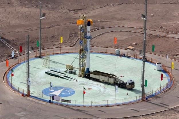 Iran także chce podbić kosmos /AFP