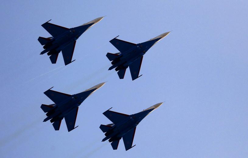 Iran zezwolił ponownie Rosji na korzystanie z bazy lotniczej (na zdjęciu rosyjskie Su-27) /AFP