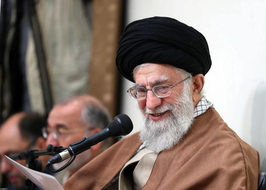 Irański przywódca duchowo-polityczny, ajatollah Ali Chamenei /AA/ABACA /PAP/EPA