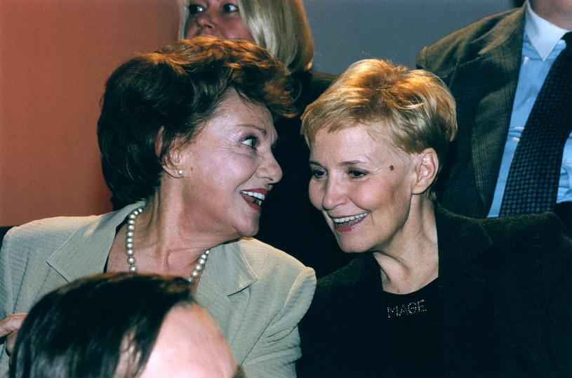 Irena Dziedzic i Edyta Wojtczak przez wiele lat razem pracowały w TVP /AKPA