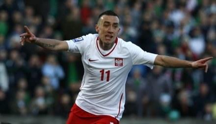 Ireneusz Jeleń przez kontuzję nie zagra w meczu Polska - Grecja /AFP